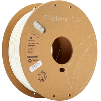PolyTerra™ PLA - Cotton White (1.75mm/1kg)