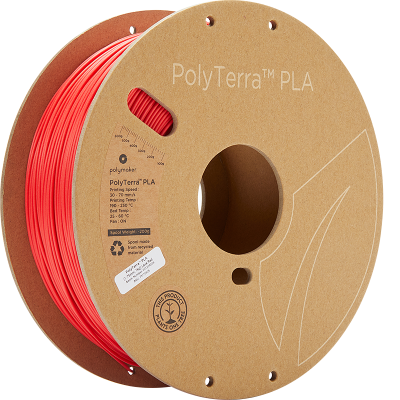 PolyTerra™ PLA - Lava Red (1.75mm/1kg)
