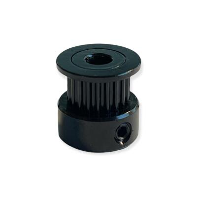 GT2 20T Pulley (6mm timing belt + 5mm bore) - Black