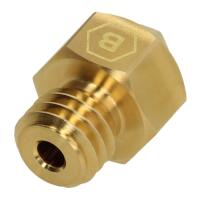 BROZZL MK8 Nozzle Brass (Various Sizes)