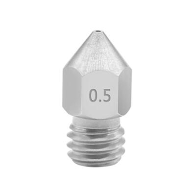 MK8 Nozzle Stainless Steel - 0.5