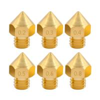 MK10 Nozzle Brass (Various Sizes)
